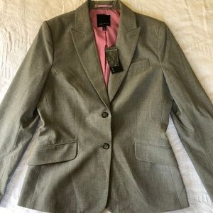 NWT The Limited Two Button Gray Blazer